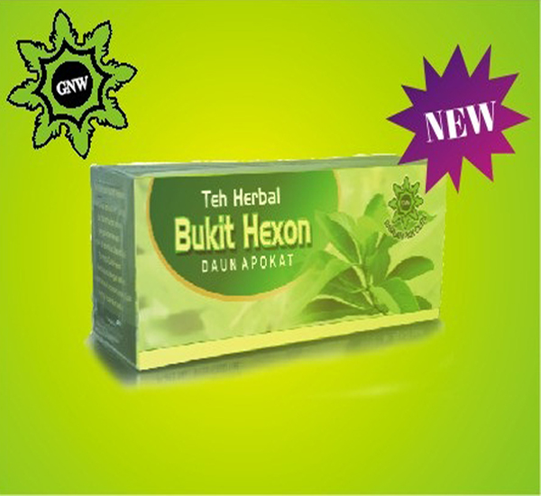 Teh Herbal Bukit Hexon Daun Alpukat