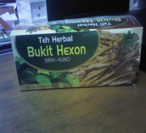 Teh Herbal Bukit Hexon Sirih Kunci